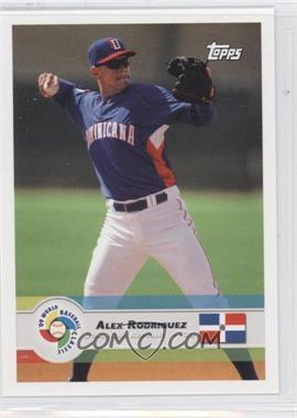 2009 Topps World Baseball Classic - [Base] #13 - Alex Rodriguez