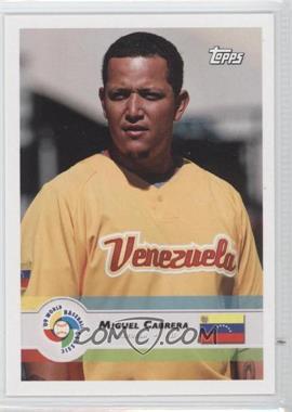 2009 Topps World Baseball Classic - [Base] #35 - Miguel Cabrera