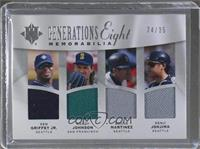 Ken Griffey Jr., Randy Johnson, Edgar Martinez, Kenji Johjima, Satchel Paige, E…