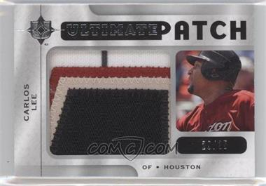 2009 Ultimate Collection - Ultimate Patch #UPCL - Carlos Lee /35