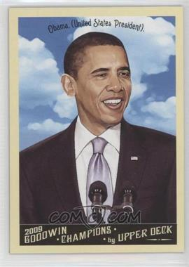 2009 Upper Deck - Goodwin Champions Preview #GCP-9 - Barack Obama
