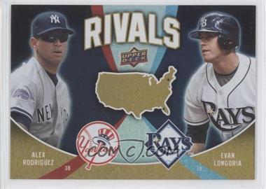 2009 Upper Deck - Rivals #R12 - Evan Longoria, Alex Rodriguez