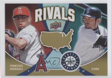 2009 Upper Deck - Rivals #R23 - Francisco Rodriguez, Ichiro Suzuki