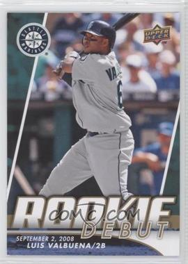 2009 Upper Deck - Rookie Debut #RD-LV - Luis Valbuena