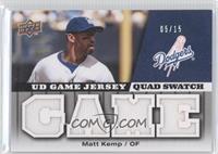 Matt Kemp #/15