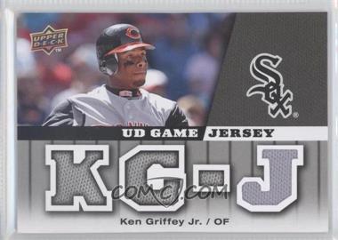 2009 Upper Deck - UD Game - Jersey #GJ-KG - Ken Griffey Jr.