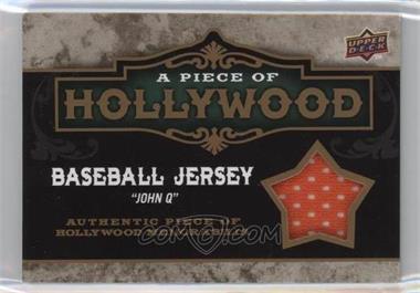 "2009 Upper Deck A Piece of History - A Piece of Hollywood #POH-DW - Baseball Jersey ""John Q"" (Denzel Washington)"