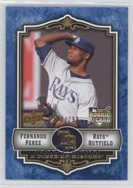 2009 Upper Deck A Piece of History - [Base] - Blue #143 - Fernando Perez /299