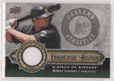2009 Upper Deck A Piece of History - Franchise History - Jersey #FH-BC - Bobby Crosby [EXtoNM]