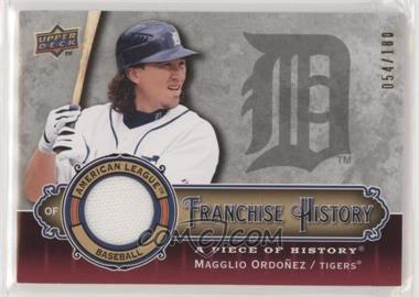 2009 Upper Deck A Piece of History - Franchise History - Red Jersey #FH-MO - Magglio Ordonez /180 [EX to NM]