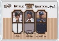 Jim Thome, Manny Ramirez, Ken Griffey Jr. /15