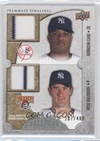 Teammate Timelines Dual Swatch - Robinson Cano, Ross Ohlendorf #/400