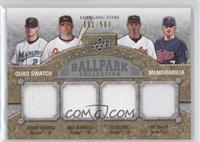 Jeremy Hermida, Adam Jones, Nick Markakis, Joe Mauer /500