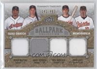 Grady Sizemore, Adam Jones, Victor Martinez, Nick Markakis /400