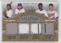 Manny Ramirez, Torii Hunter, Matt Garza, Johnny Damon /500