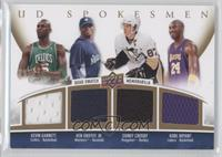 Ken Griffey Jr., Kevin Garnett, Kobe Bryant, Sidney Crosby /25