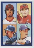 Dan Haren, J.D. Drew, Adrian Gonzalez, Chris Young