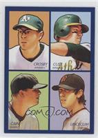 Bobby Crosby, Jack Cust, Matt Cain, Tim Lincecum