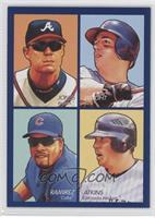 Chipper Jones, David Wright, Aramis Ramirez, Garrett Atkins