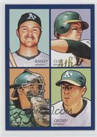 Jeff Baisley, Jack Cust, Kurt Suzuki, Bobby Crosby
