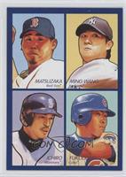 Kosuke Fukudome, Daisuke Matsuzaka, Chien-Ming Wang, Ichiro Suzuki