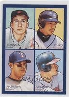 Grady Sizemore, Brooks Robinson, Ichiro Suzuki, Josh Hamilton