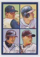 Cliff Lee, Grady Sizemore, Felix Hernandez, Ichiro Suzuki