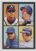 Chipper Jones, David Wright, Garrett Atkins, Aramis Ramirez