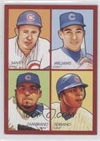 Ron Santo, Billy Williams, Carlos Zambrano, Alfonso Soriano