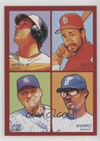 Ozzie Smith, Hanley Ramirez, Derek Jeter, Cal Ripken Jr.