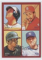 Cal Ripken Jr., Ozzie Smith, Jose Reyes, Derek Jeter