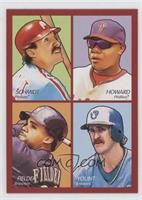 Ryan Howard, Prince Fielder, Mike Schmidt, Robin Yount