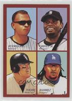 Jim Thome, Manny Ramirez, Alex Rodriguez, Ken Griffey Jr. [Noted]