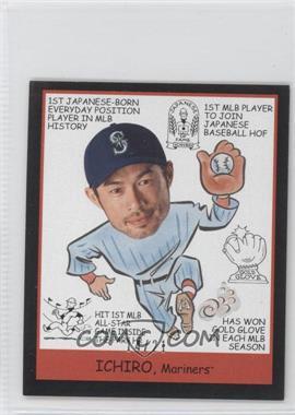 2009 Upper Deck Goudey - [Base] - Mini Black Back #269 - Ichiro Suzuki /21