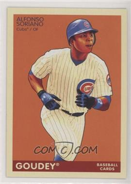 2009 Upper Deck Goudey - [Base] #40 - Alfonso Soriano