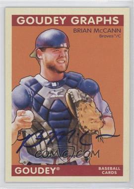 2009 Upper Deck Goudey - Goudey Graphs #GG-BM - Brian McCann