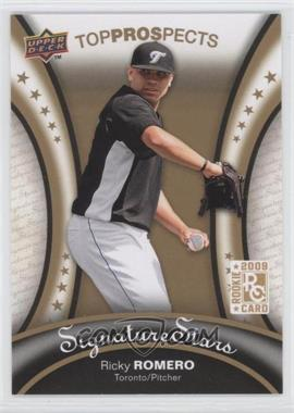 2009 Upper Deck Signature Stars - [Base] #117 - Ricky Romero