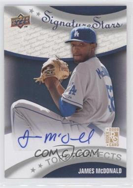 2009 Upper Deck Signature Stars - [Base] #195 - James McDonald