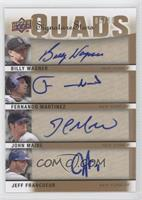 Jeff Francoeur, John Maine, Billy Wagner, Fernando Martinez /30