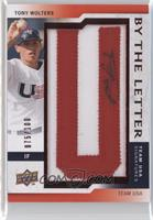 Tony Wolters (letter U) /100