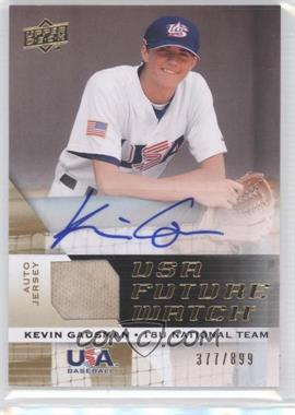 2009 Upper Deck Signature Stars - USA Future Watch Jersey Autographs #UFWA-28 - Kevin Gausman /899