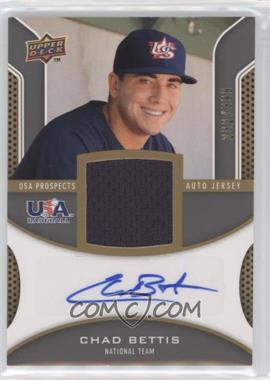 2009 Upper Deck Signature Stars - USA Prospects Autograph Jerseys #USA-BE - Chad Bettis /399