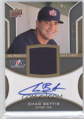 2009 Upper Deck Signature Stars - USA Prospects Autograph Jerseys #USA-BE - Chad Bettis /399