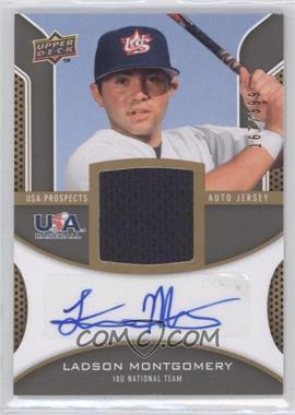 2009 Upper Deck Signature Stars - USA Prospects Autograph Jerseys #USA-LM - Ladson Montgomery /399