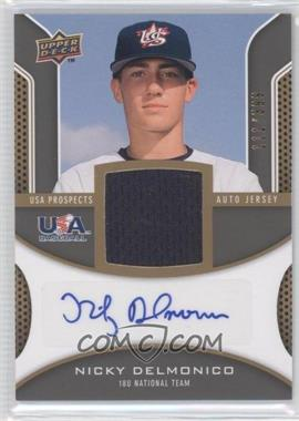 2009 Upper Deck Signature Stars - USA Prospects Autograph Jerseys #USA-ND - Nicky Delmonico /399
