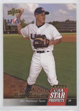 2009 Upper Deck Signature Stars - USA Star Prospects #USA-10 - Manny Machado