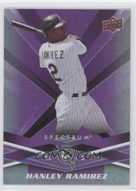 2009 Upper Deck Spectrum - [Base] #38 - Hanley Ramirez