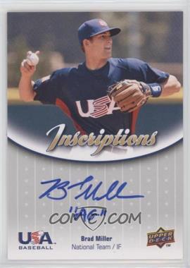 2009 Upper Deck Usa Baseball Box Set Inscriptions National Team