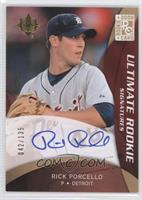 Rookie Signatures - Rick Porcello #/135