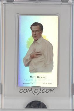 2009 eTopps Allen & Ginter's Presidential Pitch - [Base] #4 - Mitt Romney /999